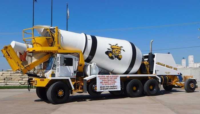 Andale Ready Mix central ready mixed concrete truck