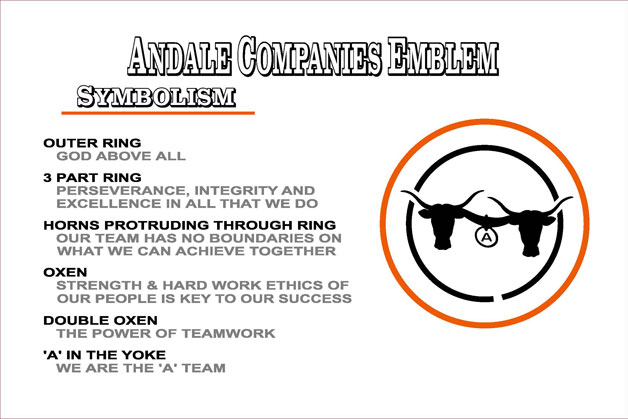 About Andale Ready Mix Company Emblem