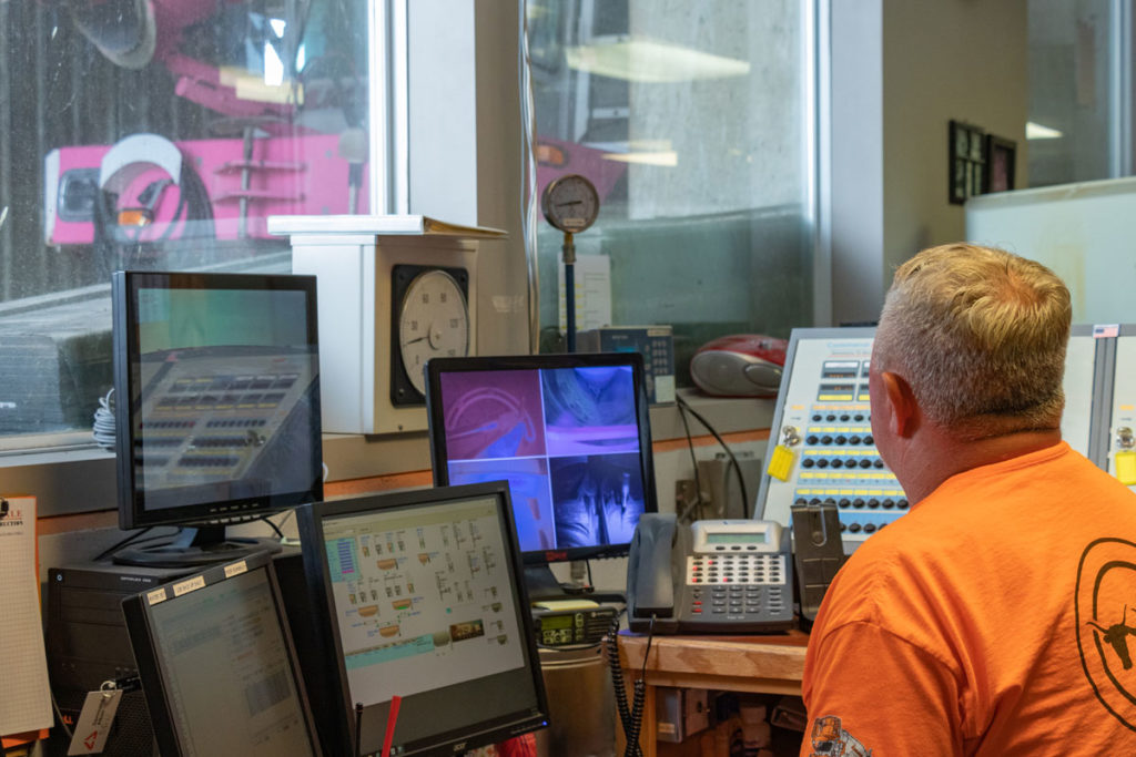 Andale Ready Mix Central dispatch center